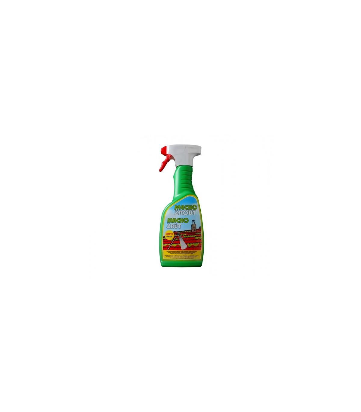 Machožrút - postrekový prípravok proti machu - ochrana rastlín - 500 ml