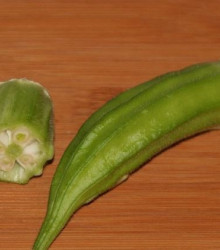 Ibištek jedlý - Abelmoschus esculentus - predaj semien - 12 Ks