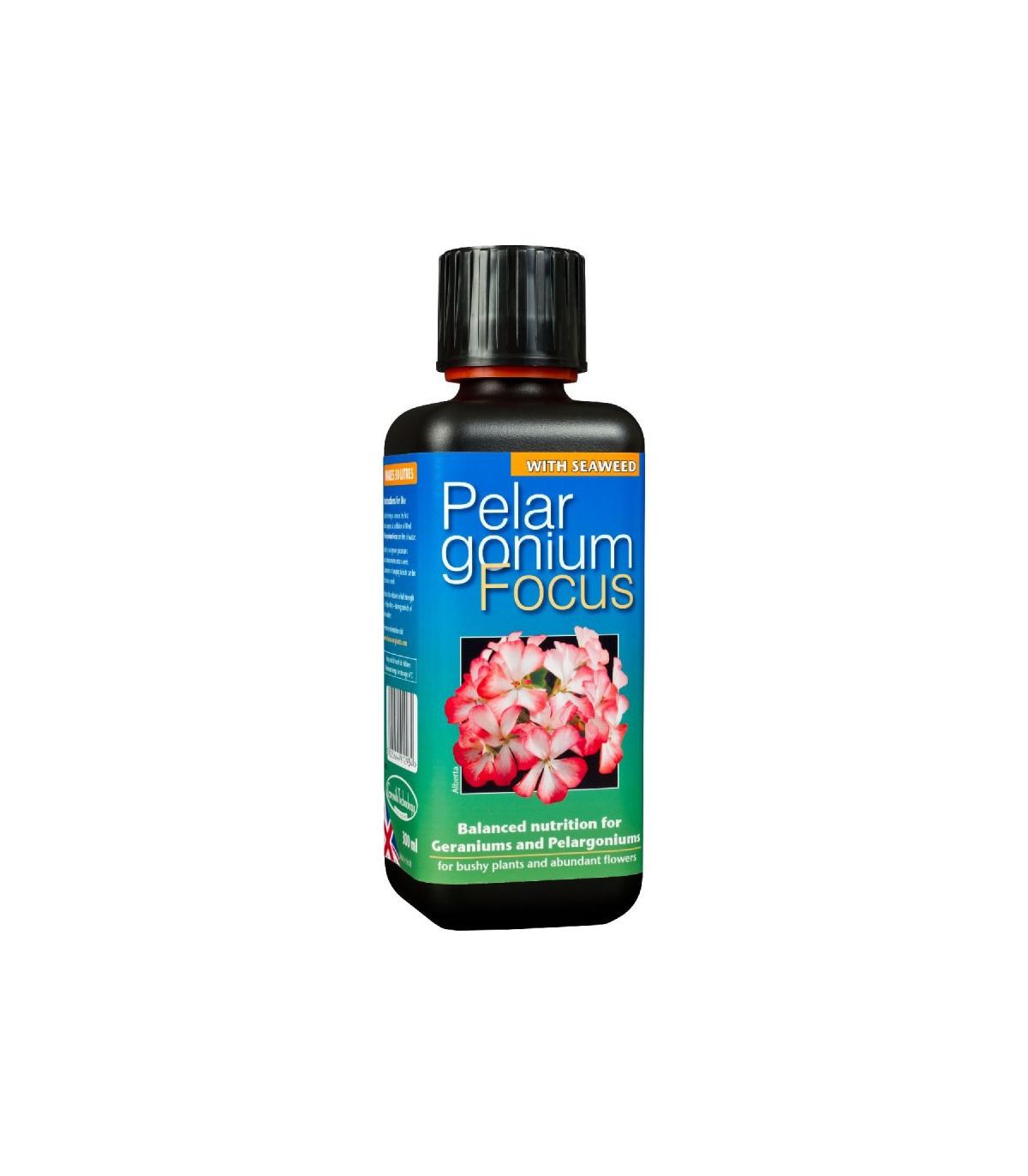 Hnojivo pre muškáty - Pelargonium focus - 300 ml