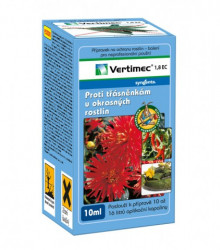 Vertimec - prípravok proti strapkám v okrasných rastlinách - 10 ml