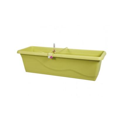 Samozavlažovací truhlík - Extra Lina Smart - zelený - 40 cm