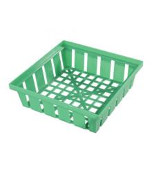 Košík na cibuľoviny - hranatý - 16 x 16 cm
