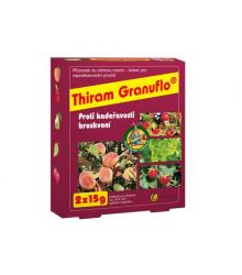 Thiram Granuflo - proti kučeravosti broskýň - 2 x 15 g
