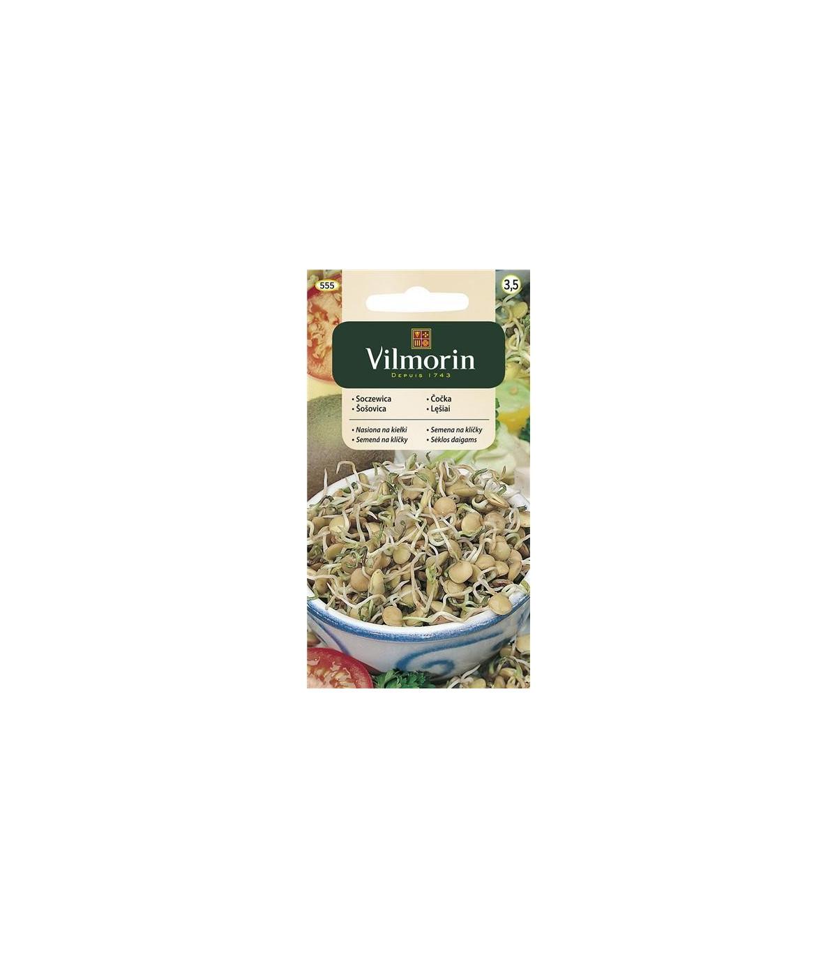 Semená na klíčky - Šošovica - Vilmorin - 20 g