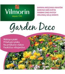 Vilmorin - farebná zmes kvetín priťahujúca vtáky - semená - 8 g