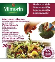 Semená na klíčky - Pikantná zmes - 20 g