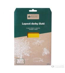 Lepové dosky žlté bio - proti škodcom - Biocont - ochrana rastlín - 5 ks