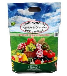 Vermikompost - bio hnojivo - 8 l