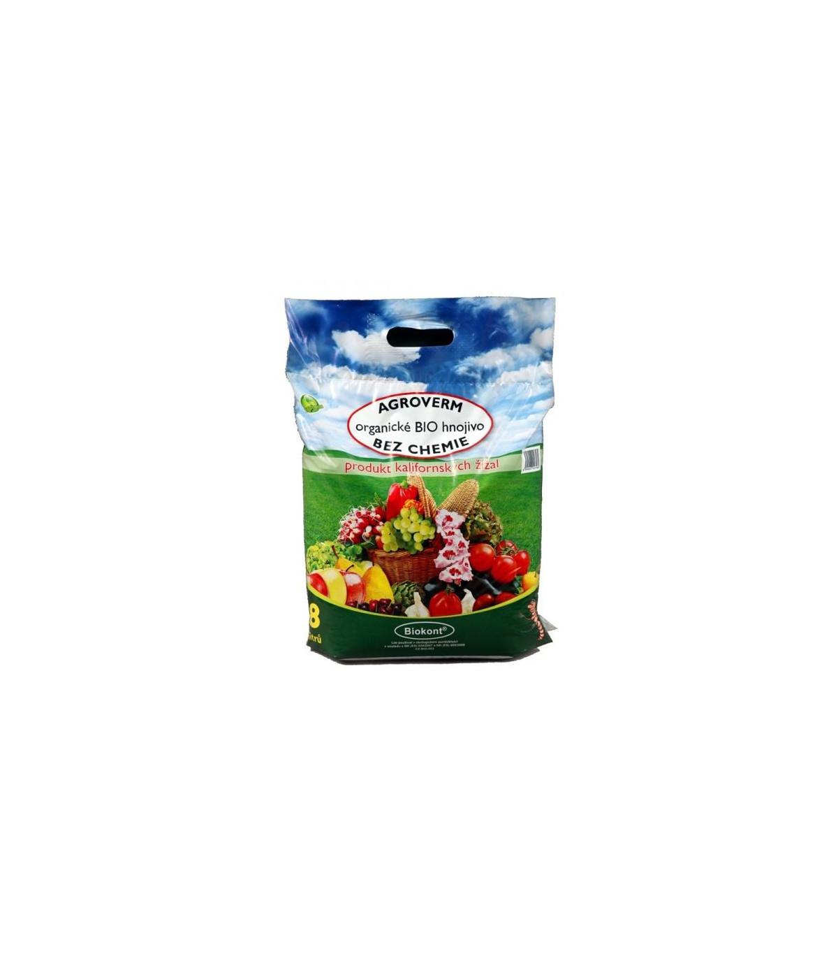 Agroverm - biologické hnojivo - 8 l