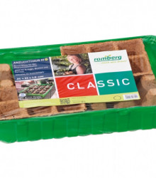 Miniskleník M PLUS 36x22x13 cm + 24 ks rašelinových sadbovačov