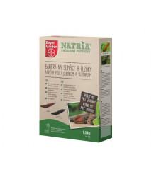 Bariéra proti slimákom a slizniakom 1,5 kg - NATRIA Prírodný produkt