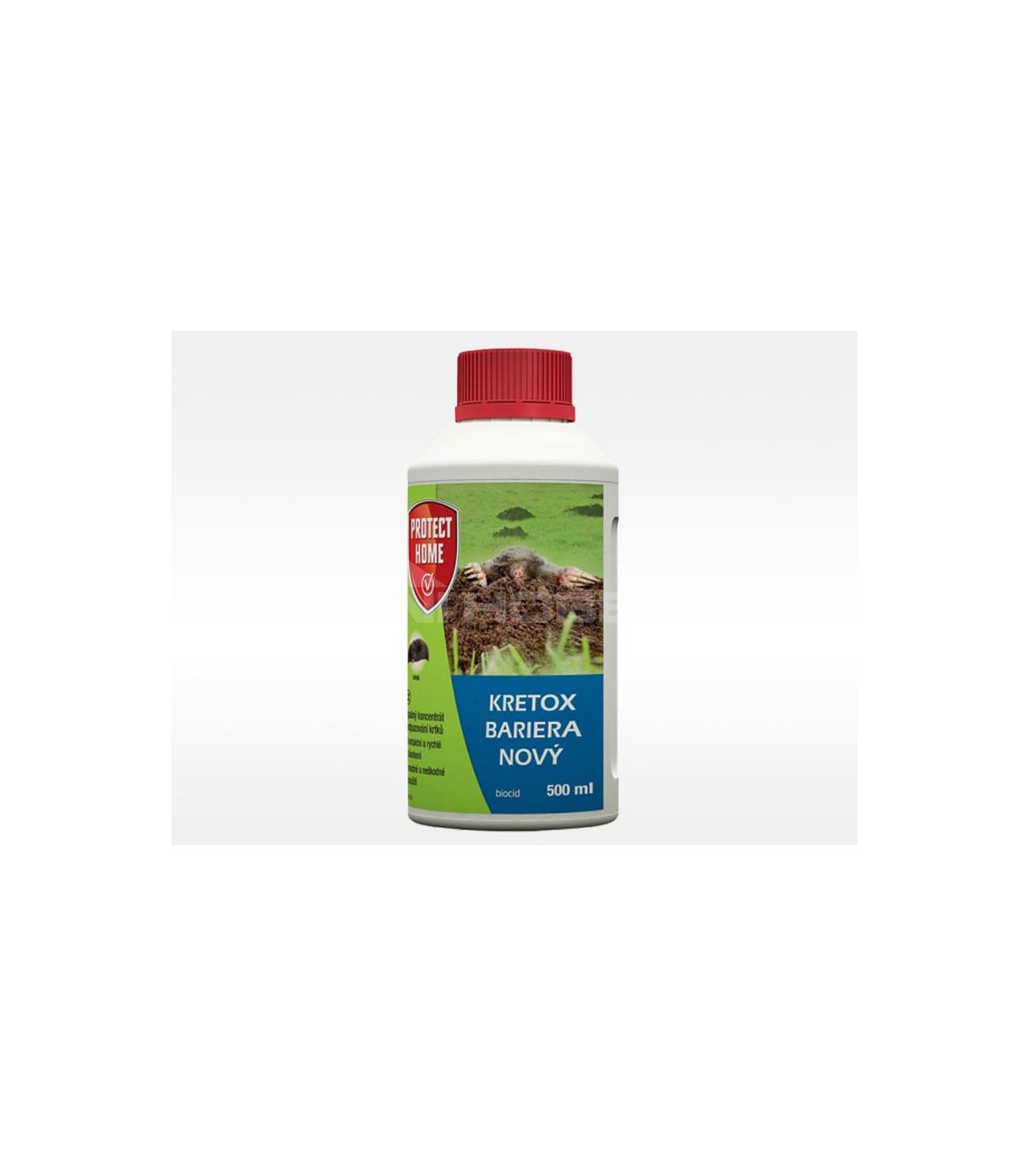 Kretox - Bariéra na odpudzovanie krtkov - Protect home - ochrana rastlín - 500 ml