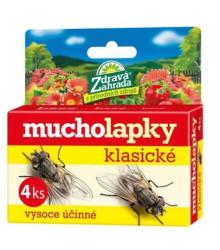 Mucholapky klasické - Zdravá záhrada - ochrana pred hmyzom - 4 ks