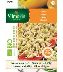 Bio semená na klíčky - Hrach - Vilmorin - 40 g