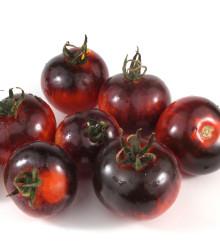 BIO paradajka kríčková Black Zebra - Solanum lycopersicum - rajčiak - bio semená rajčiaka - 7 ks