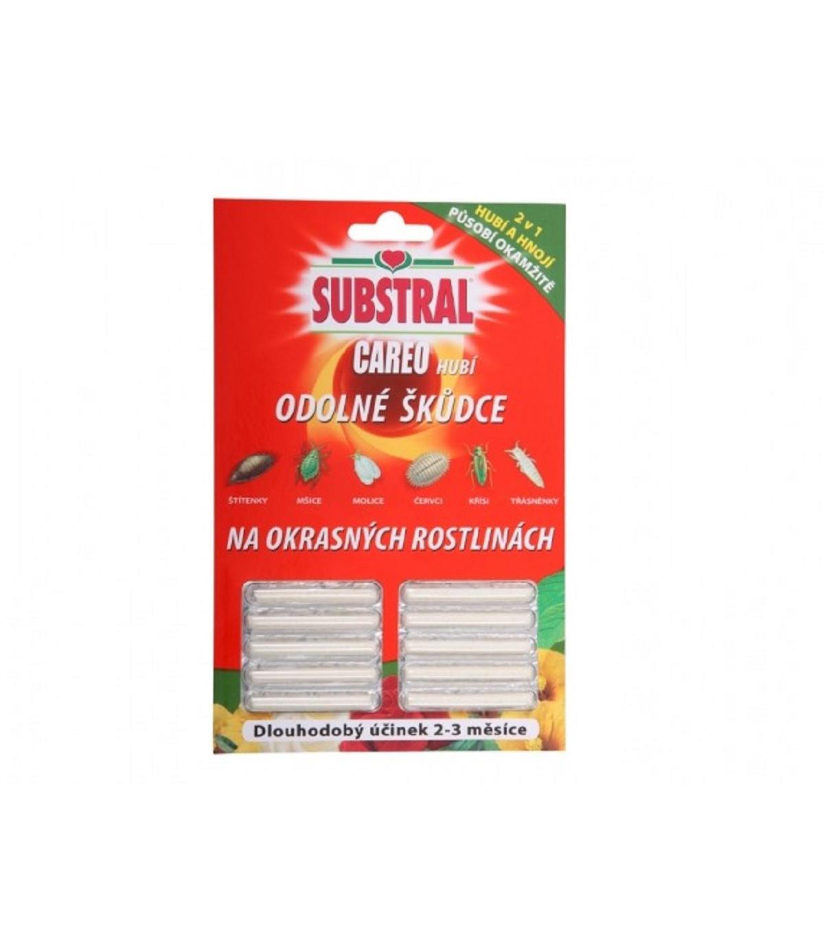 Substral Careo - tyčinky proti hmyzu - 10 Ks