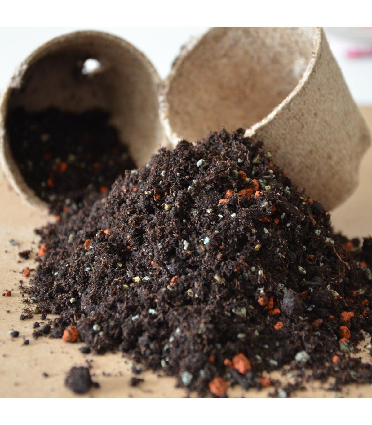 Špeciálny substrát - substrát na pestovanie semien citrusov - 100 g