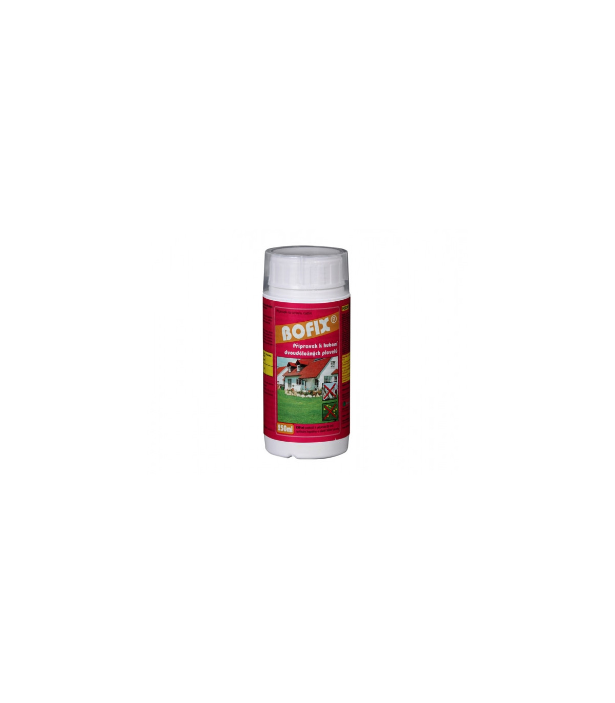 Bofix - prípravok na likvidáciu buriny - Floraservis - ochrana rastlín - 250 ml