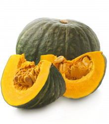BIO tekvica Zelené Hokkaido - Cucurbita maxima - dyňa - bio semená tekvice - 7 ks