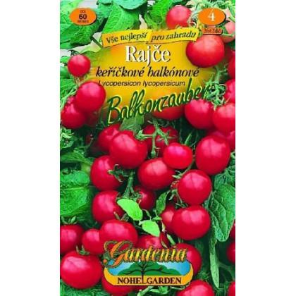 Paradajka kerová- balkonová- Balkonzauber- semená- 60 ks