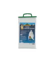 Textília na rýchlenie biela - tunel 1,4 x 5 m