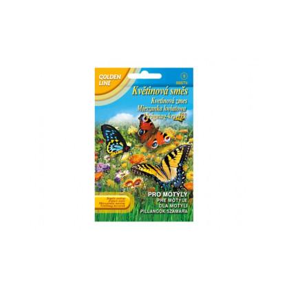 Kvetinová zmes pre motýle - semena - 3,75 g