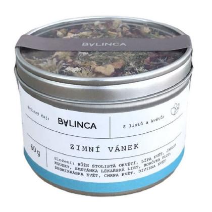 Zimný vánok - zmes byliniek - bylinkové čaje - 60 g