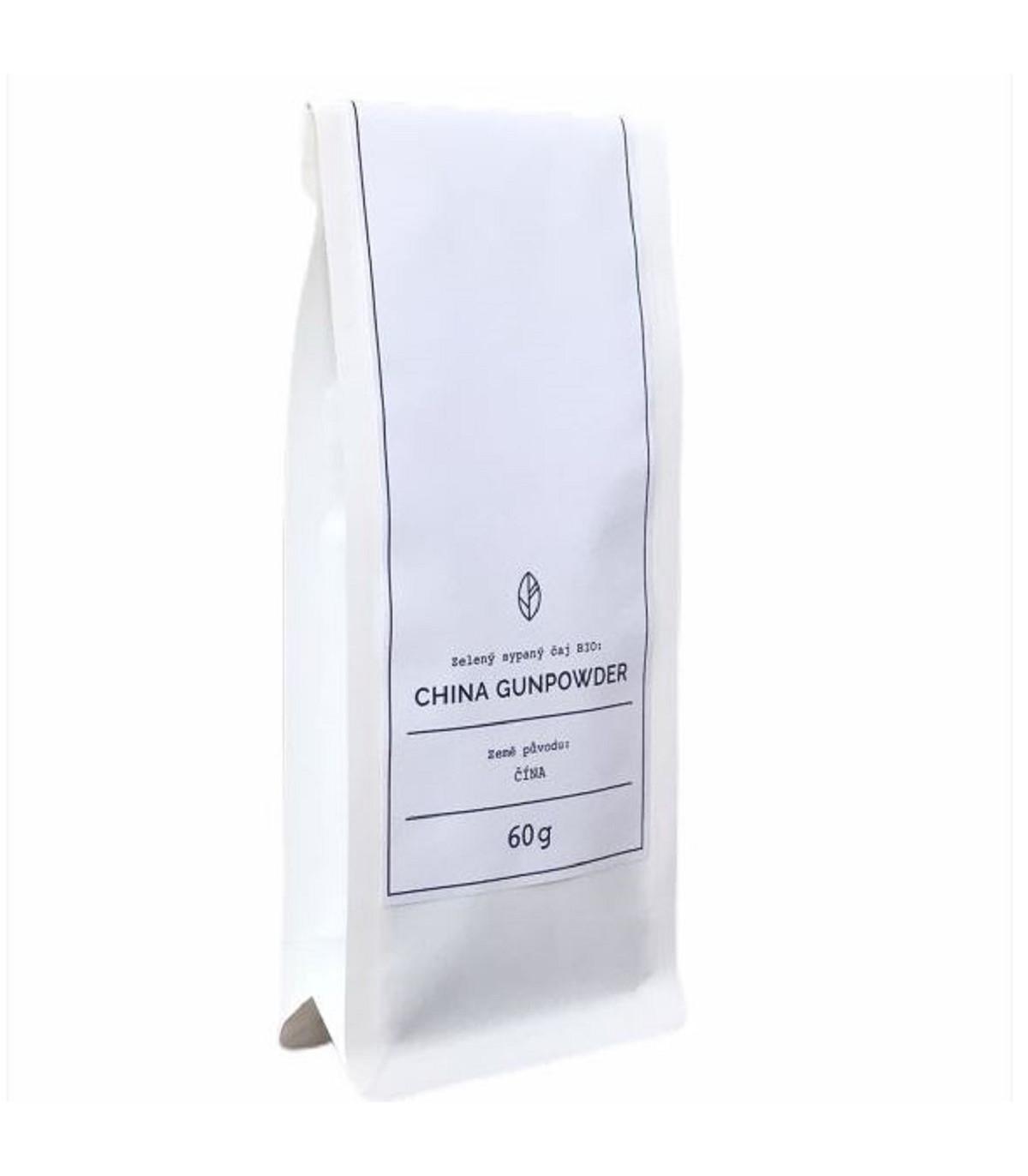 BIO - China Gunpowder Organic Tea - zelený čaj - 60 g