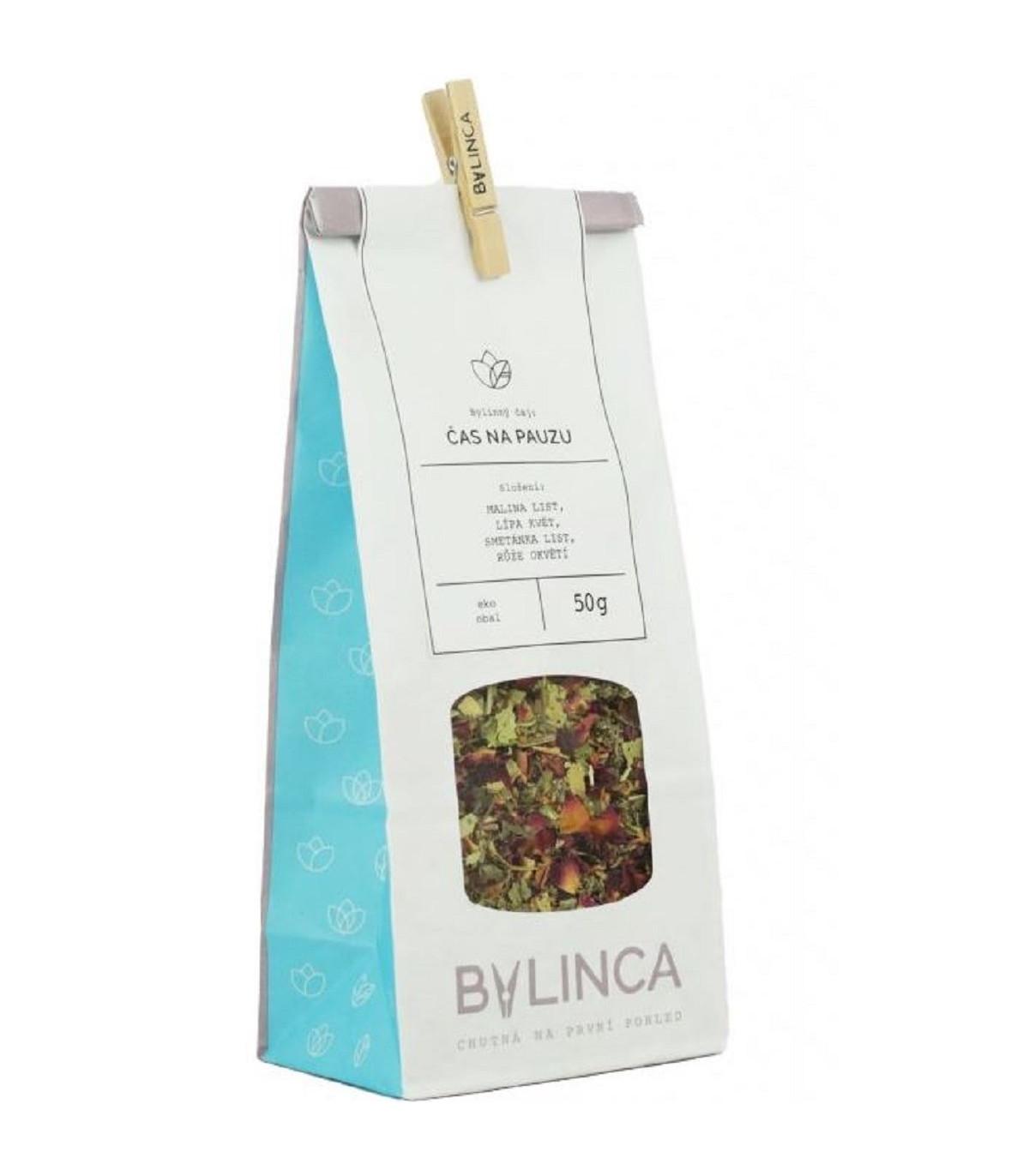 Čas na pauzu - zmes byliniek - bylinkové čaje - 50 g