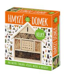 Domček pre hmyz veľký - domček pre motýle, čmeliaky, včely, mušky a chrobáky - 1 ks