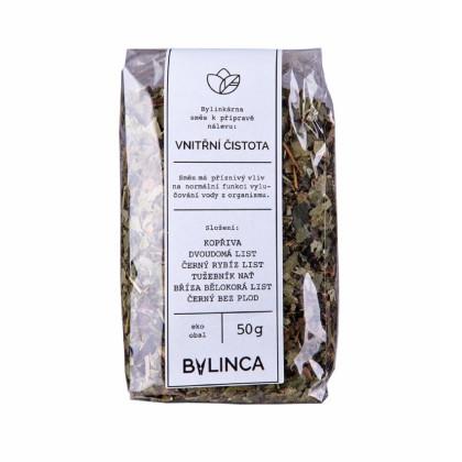 Vnútorná čistota - zmes byliniek - bylinkové čaje - 50 g