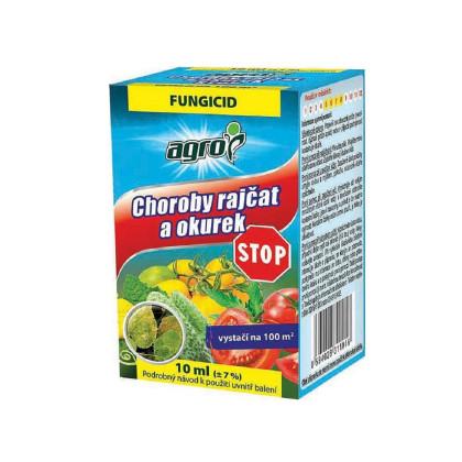 Choroby paradajok a uhoriek - Agro - ochrana rastlín - 10 ml