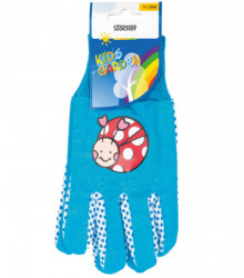 Detské pracovné rukavice Stocker - modré - 1 pár