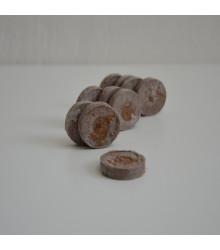 Rašelinové zakoreňovače - veľ. 33 mm - Jiffy - 10 ks - výhodnejšie balenie