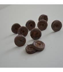 Rašelinové zakoreňovače - veľ. 25 mm - Jiffy - 10 ks - výhodnejšie balenie