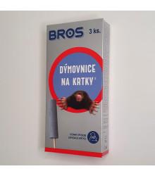 Dymovnica na krtkov - Bros - 3 Ks v balení - 1 ks