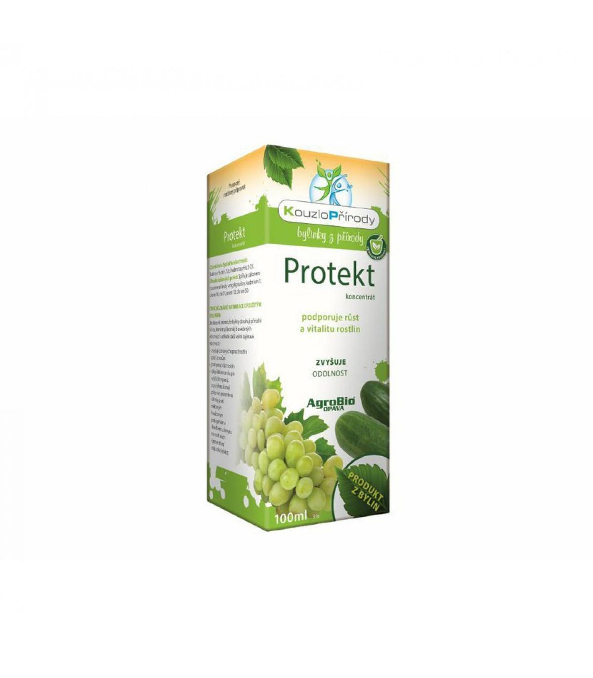 Protekt - koncentrát na rast a vitalitu rastlín - AgroBio - 100 ml