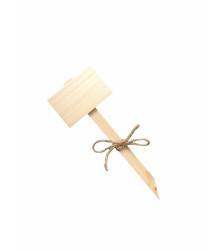 Menovky na označenie sadeníc - drevené - 1 ks