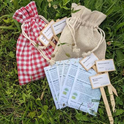 Darčekový balíček semien BIO zeleniny - darčekové balenie zadarmo
